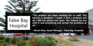false bay testimonial