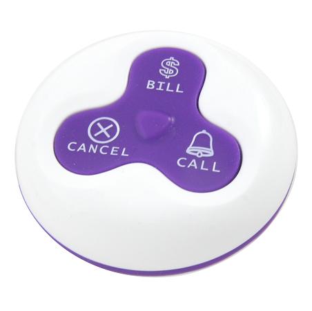 3-Key Call Button for Restaurants